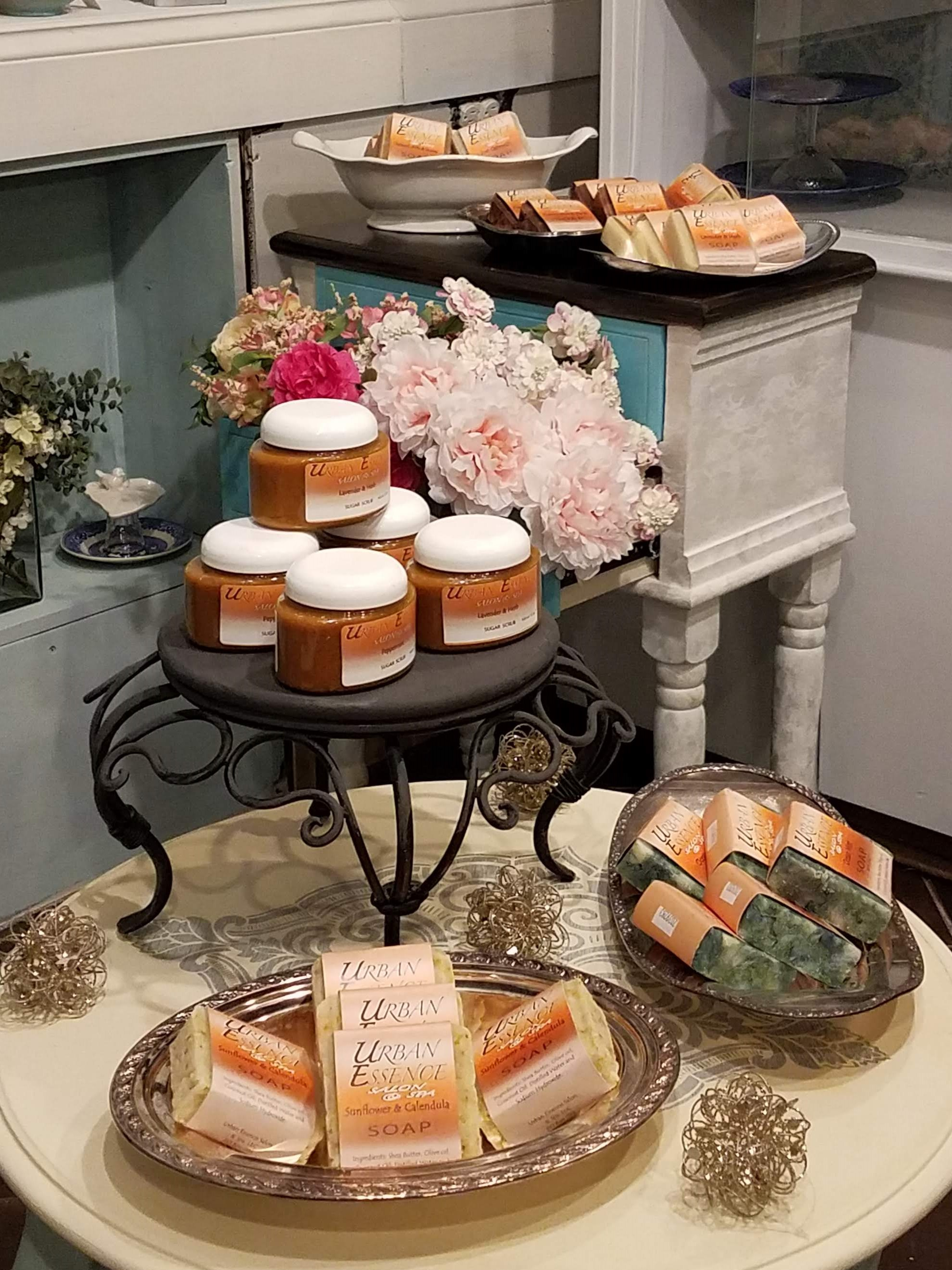 Gourmet Luxury soap display